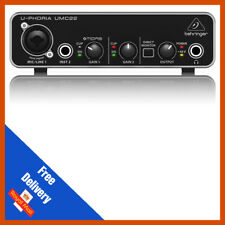 Behringer UMC22 U-strabisme Interface Audio