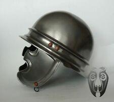16GA Steel Medieval Knight Warrior Roman Celtic Helmet Reenactment Helmet IL