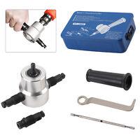 5pcs Double Head Cutter Sheet Nibbler Metal Cutter Power Drill Attachment