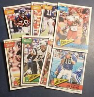 2018 Panini Classics Football Base Vets Hall of Famers You Pick From List (A-Z)