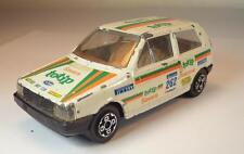 Bburago 1/43 Fiat Uno Limousine Rallye weiß Nr. 262 #1762