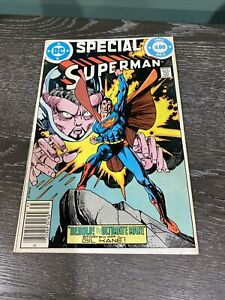DC SPECIAL SUPERMAN #1 (1983) GIL KANE STORY AND ART *