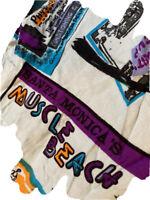 Vintage Union Bay Men's L Large Short Sleeve Button Shirt Original Muscle Beach