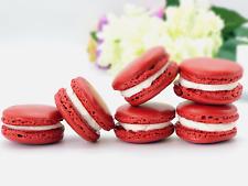 6 Pack French Red Velvet Macaron. $8.95