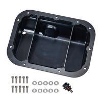 Motorsports CNC Engine Oil Sump Pan For Nissan 2009-2019 VR38DETT G-TR R35 Black