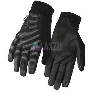 Giro Blaze 2.0 Water Resistant Windbloc Long Finger Cycling Gloves Black 2XL