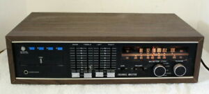 Vintage Channel Master 6207 AM/FM Stereo Receiver w/ 8 Track Cartridge Player