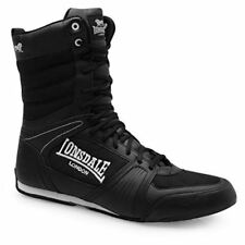 Lonsdale Contender Full Boxing Boots Lace Up Gents Mens