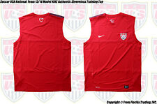 Soccer USA National Team 2013 Model NIKE Authentic Sleeveless Training Top(XL)Re