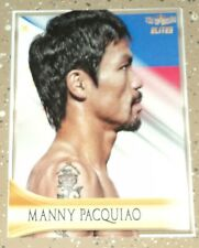 Manny Pacquiao 2019 4LUVofBOXING Elites Boxing Card Series New Pacman