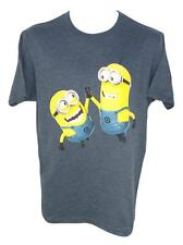 FUNNY MINION SHIRT NEW Size SMALL HIGH FIVE PARTY TIME DESPICABLE ME MENS SOFT