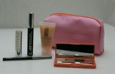 Clinique lIMITED EDITION All About Shadow Quad 5 Pcs set + Make up Bag
