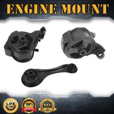 Engine Motor & Trans. Mount Complete Set 3PCS For 1991 HONDA ACCORD L4 2.2L