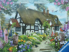 COUNTRY COTTAGE COLLECTION No.1 ROSE COTTAGE PIECE RAVENSBURGER JIGSAW BRAND NEW