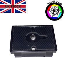 Camera Tripod Quick Release QR Plate Full Manfrotto 200-PL14 Compatibility
