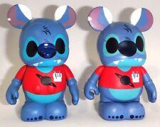 "Disney Nerds Rock  -  3"" Vinylmation ( Stitch & New Mold Stitch ) Set of 2"
