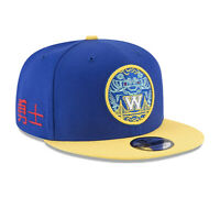 Golden State Warriors New Era NBA City Series Original Fit 9FIFTY Snapback Blue