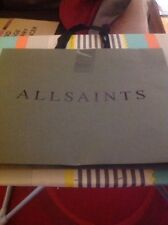 All Saints Paper Large Shopping Bag In Good Condition