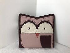 Fossil RFID Mini Leather Owl Wallet