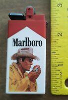 Vintage Marlboro Cigarette - Marlboro Man, Cowboy Ad, Collectors Plastic Lighter