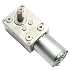 DC 12 V 100 tr/min Worm Gear reduction motor metal gear box haut moteur couple