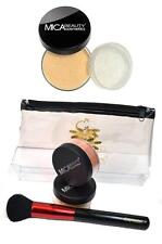 Mica Beauty Foundation 2x MF7 lady godiva 9gr + Powder Brush + Cosmetics Bag