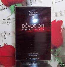 Devotion For Men edt spray 3.4 fl. oz. By Gabriela Sabatini. NIB