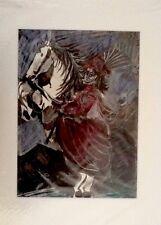 PICASSO  LA CAVALIERE #I  original 1961 lithograph  Ltd Ed CERCLE D' ART Matted