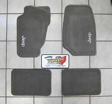 1999 - 2004 Jeep Grand Cherokee Taupe Carpet Floor Mats Mopar OEM