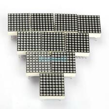 VS2# 10 PCS LED Dot Matrix Display Module 3mm Red LED 16Pin 8x8 Common Anode New