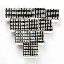 VS2# 10 PCS LED Dot Matrix Display Module 3mm Red LED 16Pin 8x8 Common Anode New