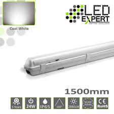 8 x LED Expert Single 5FT 1500mm 24w IP65 LED Batten Light Non Corrosive 150cm