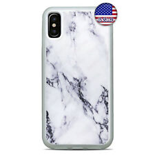 New Black Stone Marbel Granit Case Cover For iPhone 11 Pro Max Xs XR 8 Plus 7