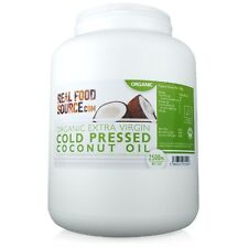RealFoodSource - Organic Cold Pressed Coconut Oil Tub 2.5L