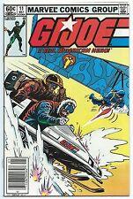 G.I. JOE A REAL AMERICAN HERO #11 May 1983 VF+ 8.5 OWW MARVEL 1st App AIRBORNE