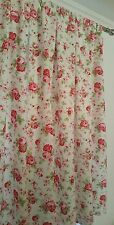 "Rosali Cath Kidston for Ikea TAB TOP CURTAINS fully lined HANDMADE up t 72"" drop"