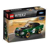 75884 LEGO Speed Champions 1968 Ford Mustang Fastback Car Set 183 Pieces Age 7+