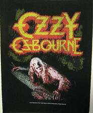 "OZZY OSBOURNE RÜCKENAUFNÄHER / BACKPATCH # 1 ""BARK AT THE MOON"""