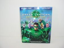 Green Lantern Blu ray + DVD Movie No Digital Copy
