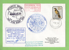 South Africa 1992 S.P.S. Icecrystal (Netherlands) Antarctic Expedition signed Ge