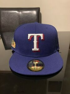 Texas Rangers 2011 World Series New Era Fitted Hat Club exclusive Cap 7 5/8