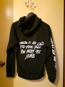 OFFICIAL XXXTENTACION '17' HOODIE SIZE SMALL SKINS