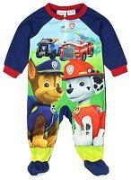 Nickelodeon Paw Patrol Footed Sleeper Blanket Pajama Boy Size 4T 5T