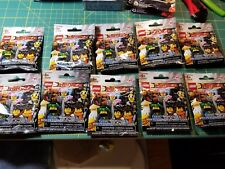 LEGO MINI FIGURES LOT SERIES 20 NINJAGO TEN PACK LOT NEW MIB