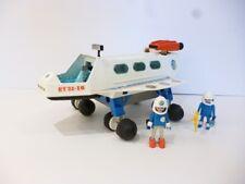 👿 Ancien Jouet Playmobil Vaisseau Navette Playmo Space Espace Année 1980