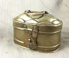 More details for antique spice box betel nut islamic middle eastern brass mughal pandan