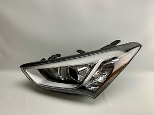 2013 2014 2015 2016 HYUNDAI SANTA FE LEFT DRIVER OEM HALOGEN HEADLIGHT LAMP