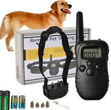 Pet Dog Training Collar Rechargeable Electric rainproof Shock vibration 300M