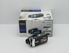 SONY HANDYCAM HDR-CX190E CAMCORDER BOXED SDHC MEMORY CARD HD HIGH DEFINITION