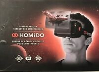 Homido VR Virtual Reality Headset 3D Wireless Glasses for Smartphones